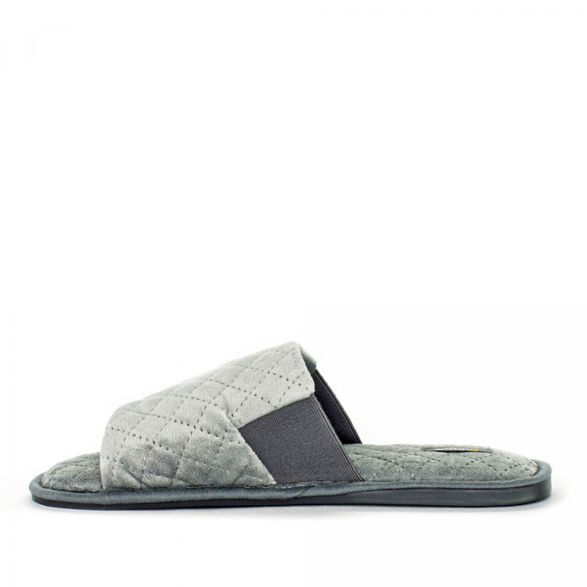 Home slippers TOMAS, Gray