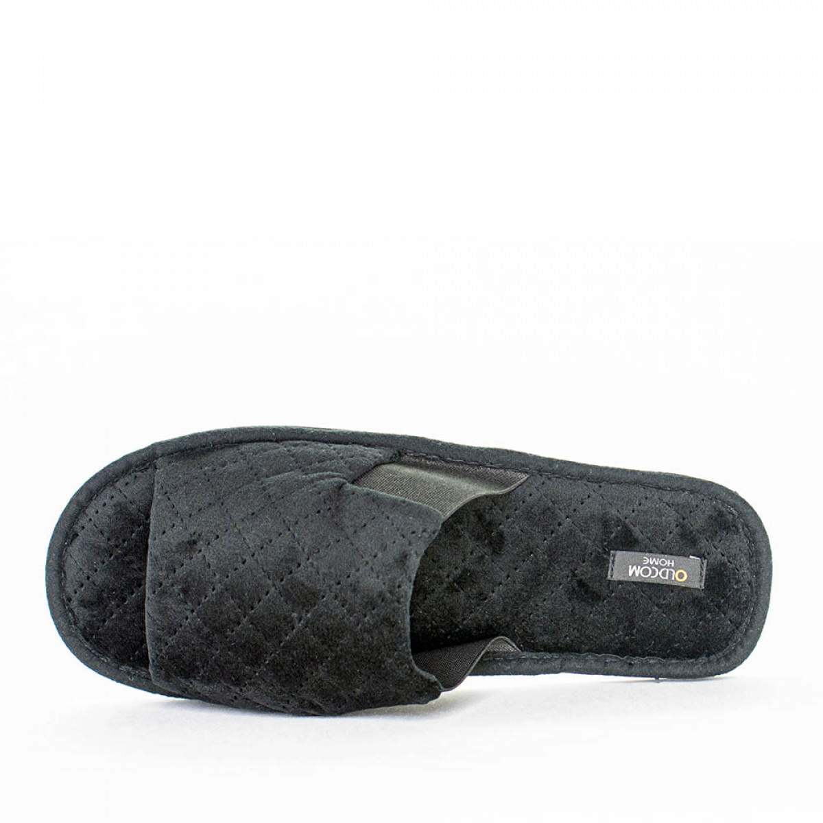 Home slippers TOMAS, Black