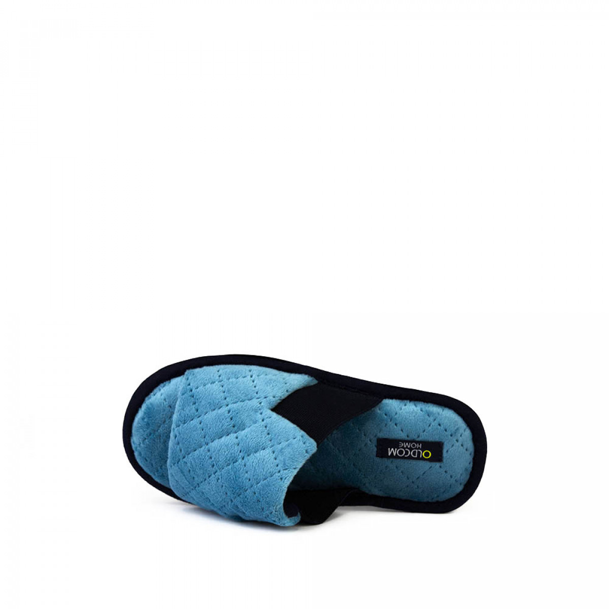 Kid's home slippers TOMAS, Turquoise